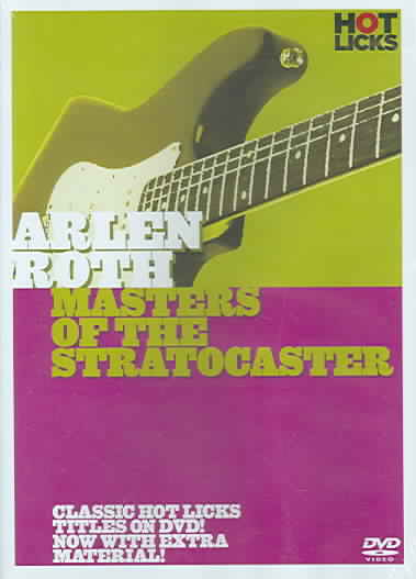 ARLEN ROTH:MASTERS OF THE STRATOCASTE BY ROTH,ARLEN (DVD)